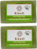 Khadi Pure Neem Soap Pack Of 2
