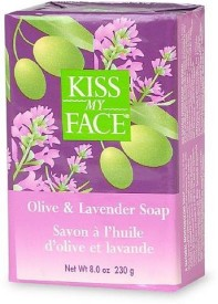 Kiss My Face Olive and Lavender Bar Soap 6 per case.