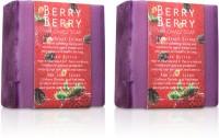 Nyassa Berry Berry Handmade Sugar Soap Pack Of 2 (300 G)