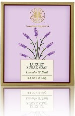 Forest Essentials Luxury Sugar Soap Lavender & Basil Freebie