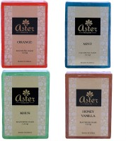 Aster Luxury Essential Bathing Bar Set Of 4 (500 G)