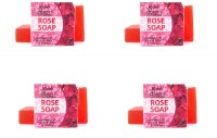 Abeers Khadi Pure Essence Winter Rose Soap (Pack Of 4) 110 Gm Each (440 G)