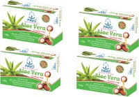 Pavo Aloe Vera Premium Soap (Pack Of 4) (400 G)