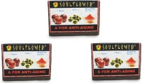 Soulflower Soulflower A For Anti Aging Soap Set Of 3 (450 G)
