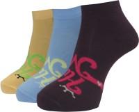 A&G Women's Self Design Ankle Length Socks - Pack Of 3 - SOCE2H6U9D3UD45A