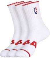 NBA Men's Striped Ankle Length Socks - Pack Of 5 - SOCDYTMCAK6XA4E6