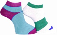 A&G Women's Self Design Ankle Length Socks - Pack Of 2 - SOCDYZZWPSHAH4FY