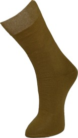 Marc Men's Solid Crew Length Socks