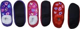 Sabhya Sakshi Women's, Men's Printed, Woven Footie Socks