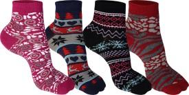 Supersox Women's Self Design Ankle Length Socks - SOCEEDY3EGSBB62R