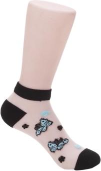 Evince Girl's, Women's Embriodered Ankle Length Socks - SOCEJMU4N4DQYCM7