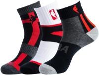 NBA Men's Striped Ankle Length Socks - Pack Of 3 - SOCDYTMCTHF4FCZZ