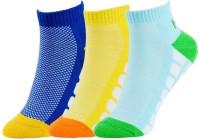 NBA Women's Self Design Ankle Length Socks - Pack Of 3