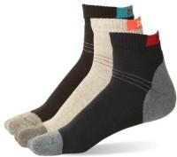 Stellen Men's Striped Ankle Length Socks - Pack Of 3 - SOCE2NM6GV2DUDQ8