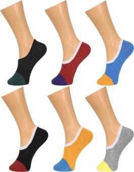 GrabBerry Women's, Men's Solid No Show Socks - SOCEGUXZMFGQHEMC