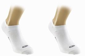 Kalenji Women's Solid Knee Length Socks Pack Of 2 - SOCE9DNJ3Q5RDF8E
