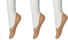 Nxt 2 Skn Women's Solid Footie Socks - SOCECXHE6YXHJFFA