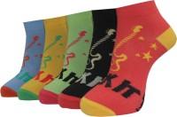 A&G Women's Self Design Ankle Length Socks - Pack Of 5 - SOCE2H6U9SZZXFR3