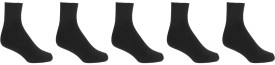 Crystal Men's Solid Ankle Length Socks Pack Of 5