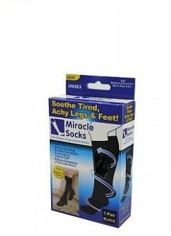 Miraclesocks Men's, Women's Solid Knee Length Socks