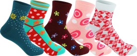 Supersox Women's Self Design Ankle Length Socks - SOCEEDY3U9UJEGVG
