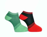 A&G Women's Self Design Ankle Length Socks - Pack Of 2 - SOCDYZZYYT44YGWH