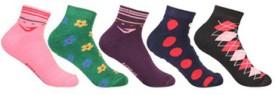 KHI Women's Checkered Ankle Length Socks
