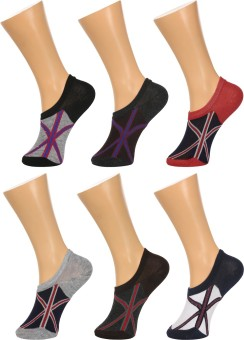 GrabBerry Women's, Men's Solid No Show Socks