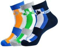 NBA Men's Striped Ankle Length Socks - Pack Of 3 - SOCDYTMCWQH4RKHM