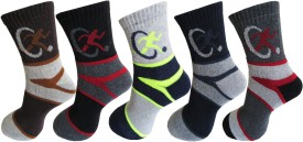 RC. ROYAL CLASS Men's Graphic Print Ankle Length Socks
