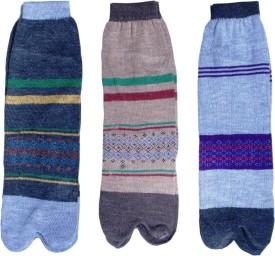 Jainam Women's Self Design Ankle Length Socks