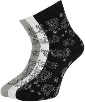 Van Heusen Women's Self Design Mid-calf Length Socks Pack Of 3