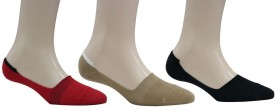 Romano Women's Solid Footie Socks Pack Of 3