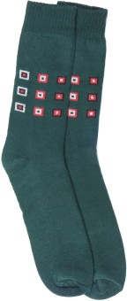 Graceway Men's Geometric Print Knee Length Socks