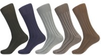 KHI Men's Striped Crew Length Socks - Pack Of 5 - SOCEY8KVAXWYYTEG