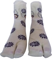 Rege Women's Printed Knee Length Socks - Pack Of 3