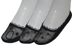 Sabhya Sakshi Women's, Girl's Embellished Footie Socks