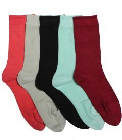 Stellen Women's Solid Ankle Length Socks