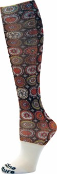 Equine Couture Women's Printed Knee Length Socks