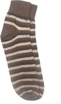 YellowMellow Men's Striped Ankle Length Socks - SOCE35CEYMJSRYBP