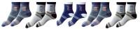 Garg Sport Men's Striped Ankle Length Socks - Pack Of 5