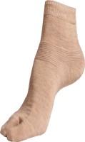 Texlon Women's Self Design Ankle Length Socks - Pack Of 3