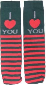 Graceway Women's Striped Knee Length Socks