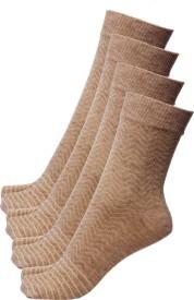 Ultimate Women's Self Design Ankle Length Socks