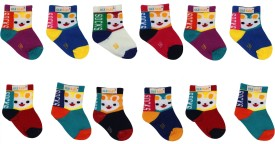 Ole Baby Baby Boy's, Baby Girl's Woven Ankle Length Socks