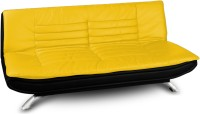 Dolphin Bean Bags Solid Wood Single Futon  Finish Color   Black And Yellow Mechanism Type   Fold Out  available at Flipkart for Rs.18999