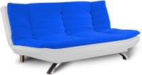 Dolphin Bean Bags Solid Wood Single Futon  Finish Color   White And R.Blue Mechanism Type   Fold Out  available at Flipkart for Rs.18999