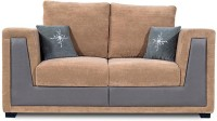 Homecity Fabric 2 Seater Sofa (Finish Color - Camel, Upholstery Color - Camel)