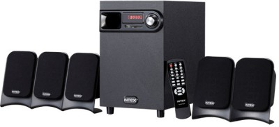 Intex IT 601 SUF Multimedia Wired Desktop Speaker Black, 5.1 Channel available at Flipkart for Rs.2980