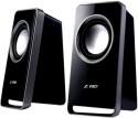 F&D V520 Wired Desktop Speaker - Black, 2 Channel
